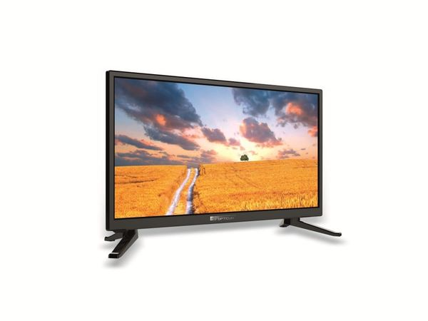 "LED-TV OPTICUM Travel TV 24"",EEK: A, 12/24V, 230 V~, 61 cm - Produktbild 1"