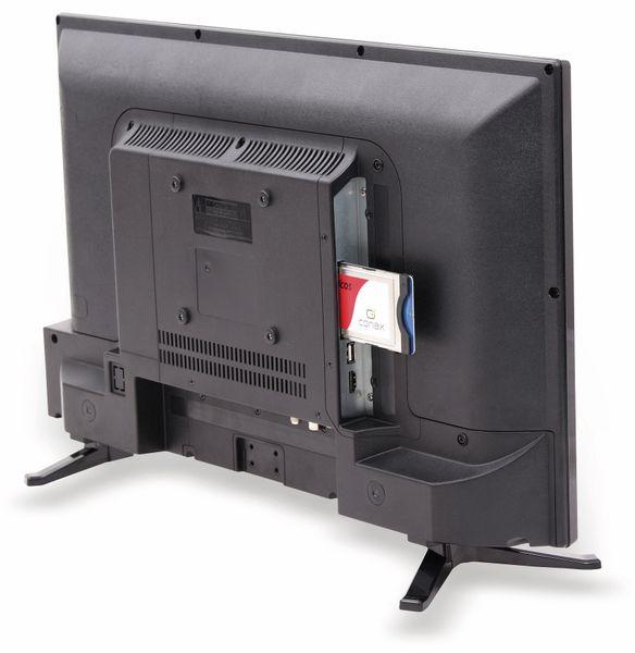 "LED-TV RED OPTICUM Travel TV LE-24Z1S, 24"" (60 cm), EEK: F, 12/24V, 230 V~ - Produktbild 2"