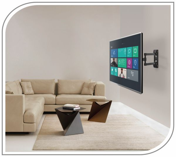 TV-Wandhalter PUREMOUNTS PM-FM12-200, VESA 200x200mm - Produktbild 6