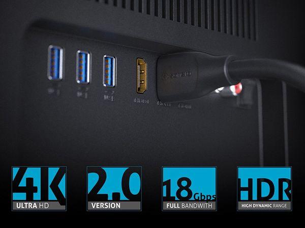 HDMI-Kabel SONERO, Premium High Speed mit Ethernet, 5,0 m - Produktbild 4