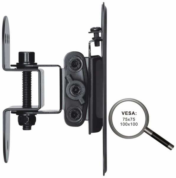 TV-Wandhalter PUREMOUNTS PM-FM10-100, VESA 100x100mm - Produktbild 3