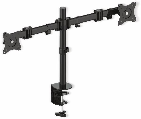 LCD-Schreibtischhalter PUREMOUNTS PM-Office-02, VESA 100x100mm