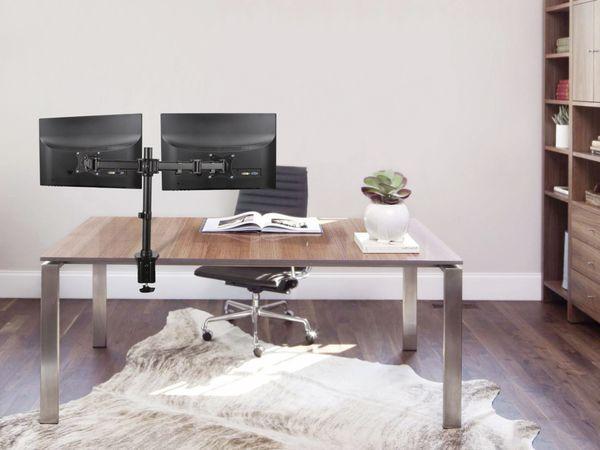 LCD-Schreibtischhalter PUREMOUNTS PM-Office-02, VESA 100x100mm - Produktbild 5