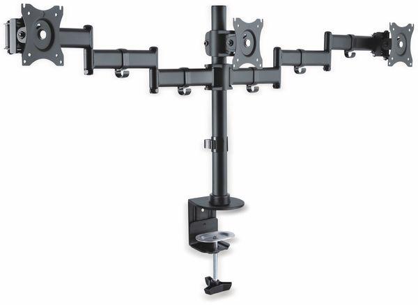 LCD-Schreibtischhalter PUREMOUNTS PM-Office-03, VESA 100x100mm