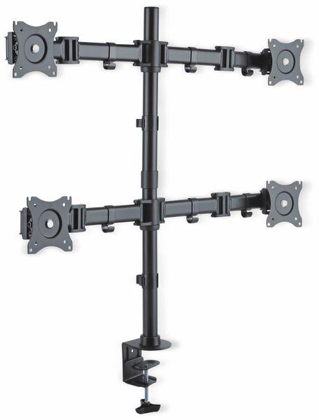 LCD-Schreibtischhalter PUREMOUNTS PM-Office-04, VESA 100x100mm