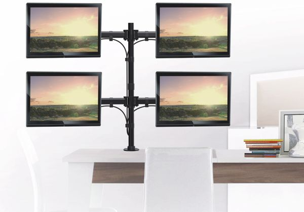 LCD-Schreibtischhalter PUREMOUNTS PM-Office-04, VESA 100x100mm - Produktbild 5