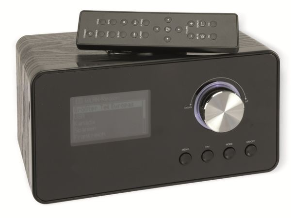 Internetradio, IWR294, mit Weckfunktion, schwarz, B-Ware