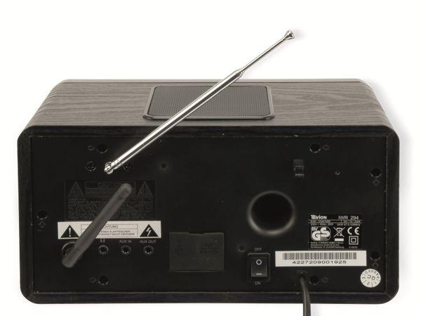 Internetradio, IWR294, mit Weckfunktion, schwarz, B-Ware - Produktbild 4