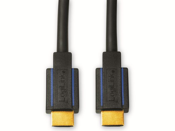 HDMI Kabel LOGILINK CHB004, HDMI 2.0b, schwarz, 1,8 m - Produktbild 2