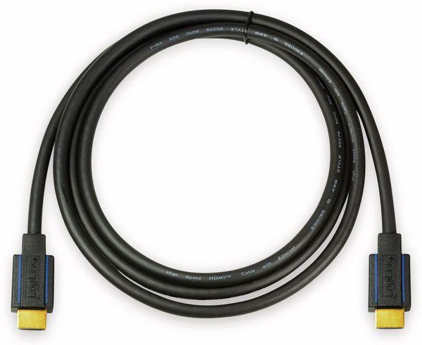 HDMI Kabel LOGILINK CHB004, Premium, 1,8 m, für Ultra HD - Produktbild 3