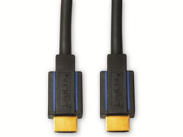 HDMI Kabel LOGILINK CHB006, HDMI 2.0b, schwarz, 5 m - Produktbild 2