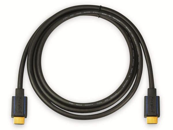 HDMI Kabel LOGILINK CHB006, HDMI 2.0b, schwarz, 5 m - Produktbild 3