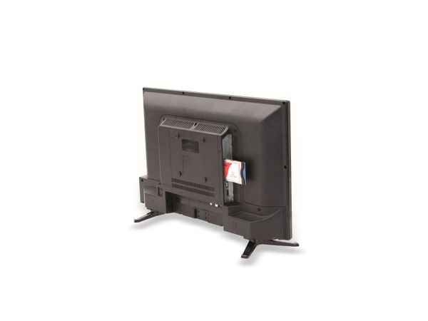 "LED-TV OPTICUM Travel TV 24"",EEK: A, 12/24V, 230 V~, 61 cm, B-Ware - Produktbild 2"