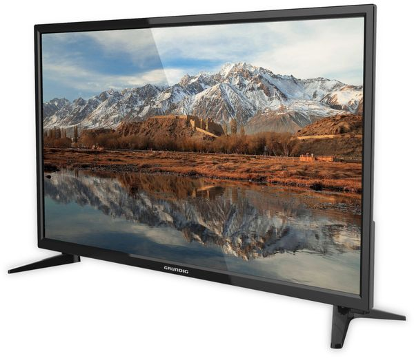 "LED-TV GRUNDIG 24 GHB 5944, EEK: A, 24"" (61 cm), schwarz - Produktbild 3"