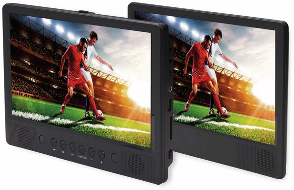 Portabler DVD-Player DENVER MTW-1086TWIN