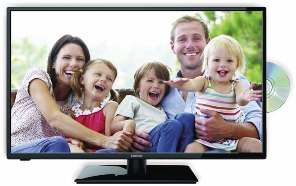 "LED-TV LENCO DVL-3242 HD, 32"" (81 cm), 16:9 Bildschirm, mit DVD-Player, schwarz, EEK: E"