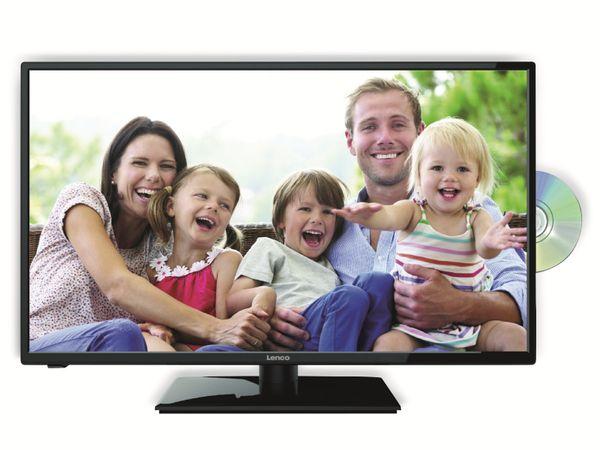 "LED-TV LENCO DVL-3242 HD, 32"" (81 cm), 16:9 Bildschirm, mit DVD-Player, schwarz"