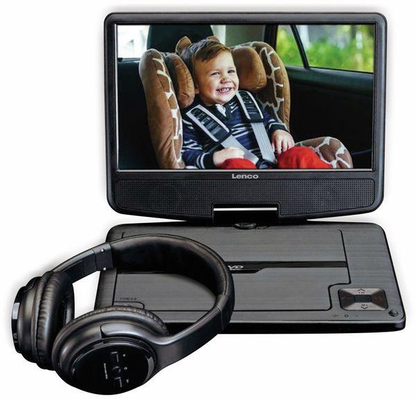 """Portabler DVD-Player LENCO DVP-947BK, 9"""" (22,5 cm)"""