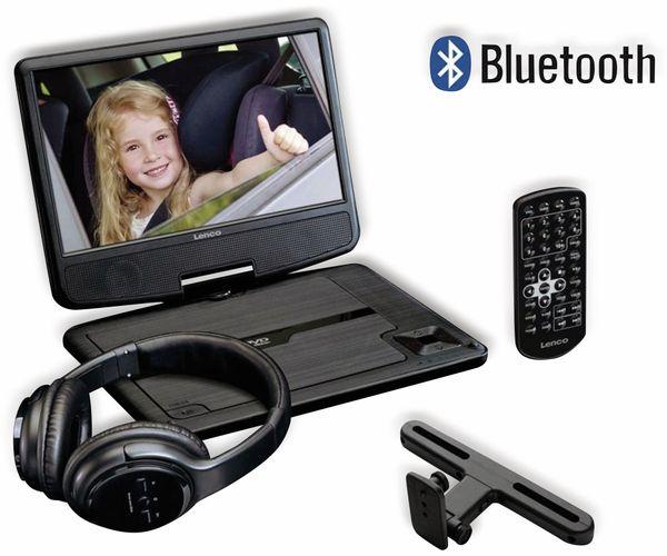 """Portabler DVD-Player LENCO DVP-947BK, 9"""" (22,5 cm) - Produktbild 2"""