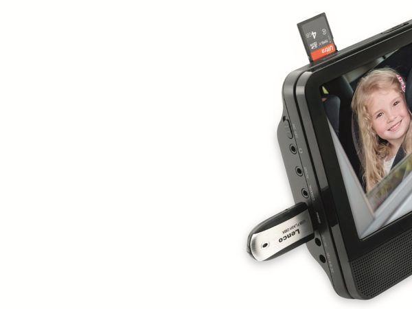"""Portabler DVD-Player LENCO MES-405, Doppel-TFT-Bildschirm 9"""" (22,5 cm) - Produktbild 3"""