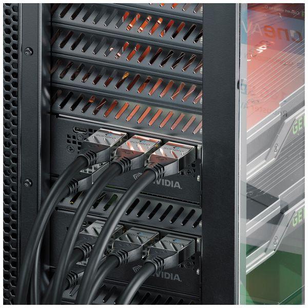 HDMI Kabel SONERO, 4K, 10 m, schwarz - Produktbild 3