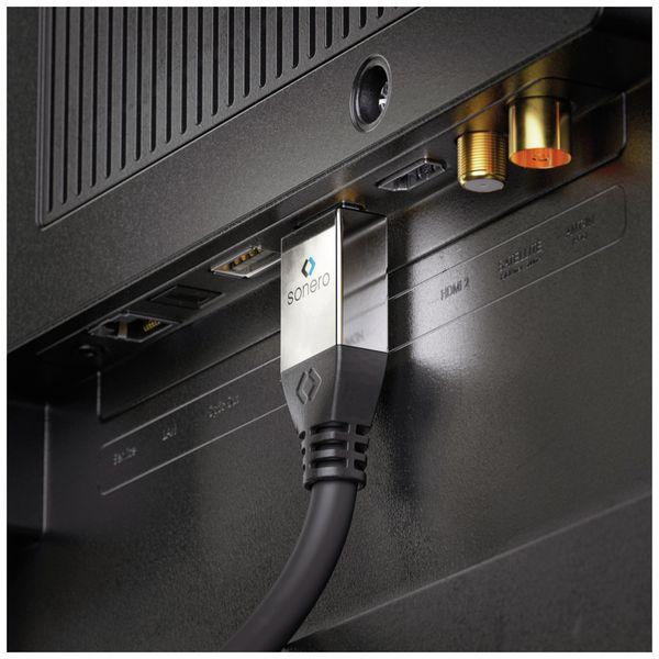HDMI Kabel SONERO, 4K, 10 m, schwarz - Produktbild 5