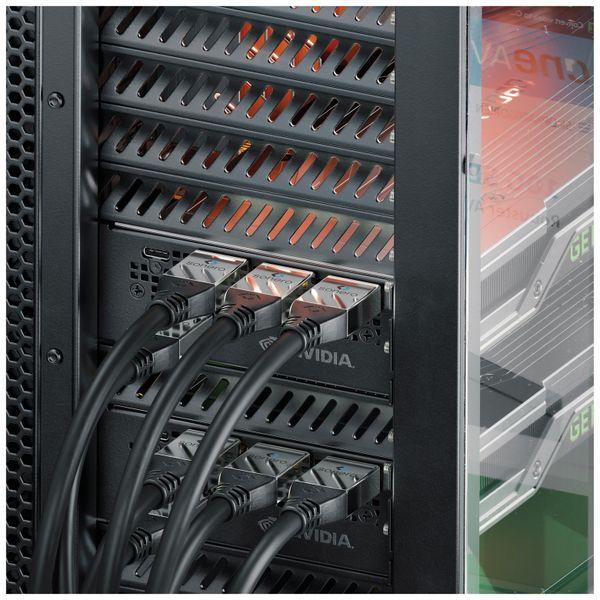 HDMI Kabel SONERO, A/C, 4K, 1 m, schwarz - Produktbild 5
