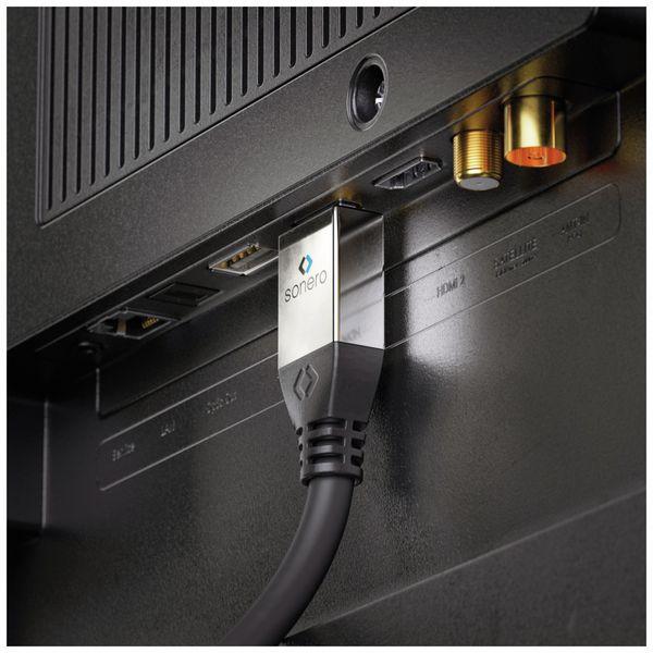 HDMI Kabel SONERO, A/D, 4K, 1 m, schwarz - Produktbild 4