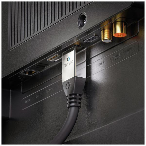 HDMI Kabel SONERO, A/D, 4K, 2 m, schwarz - Produktbild 4