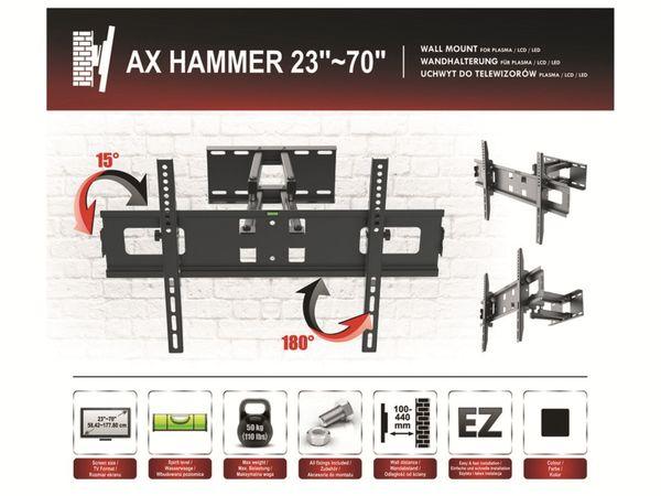 TV-Wandhalter OPTICUM AX Hammer - Produktbild 7