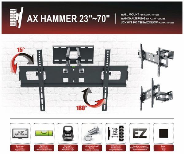 TV-Wandhalter RED OPTICUM AX Hammer - Produktbild 7