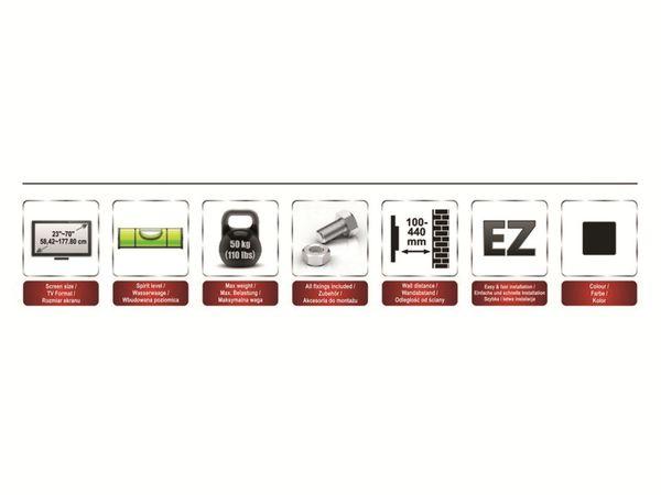 TV-Wandhalter OPTICUM AX Hammer - Produktbild 8