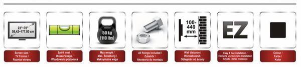 TV-Wandhalter RED OPTICUM AX Hammer - Produktbild 8