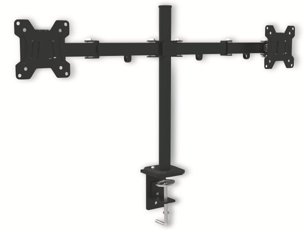 LCD-Schreibtischhalter OPTICUM Pixel Twin, für 2 Monitore