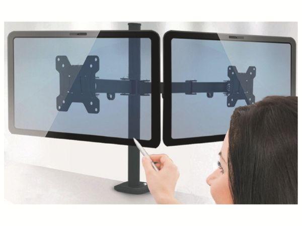 LCD-Schreibtischhalter OPTICUM Pixel Twin, für 2 Monitore - Produktbild 2