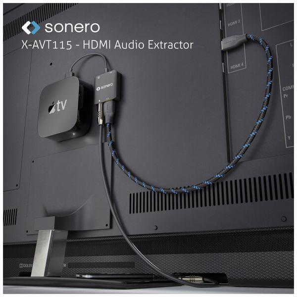 HDMI Audio Extraktor SONERO X-AVT115, 4K - Produktbild 3