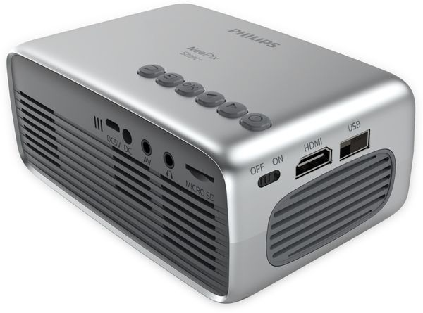 Beamer PHILIPS NeoPix Start+, integrierter Akku - Produktbild 3