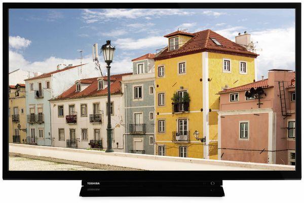 "LED-TV TOSHIBA 32W3963 DA, EEK: A+, 32"" (80 cm), schwarz"
