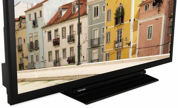 "LED-TV TOSHIBA 32W3963 DA, EEK: A+, 32"" (80 cm), schwarz - Produktbild 2"
