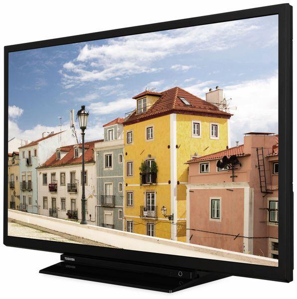 "LED-TV TOSHIBA 32W3963 DA, EEK: A+, 32"" (80 cm), schwarz - Produktbild 3"