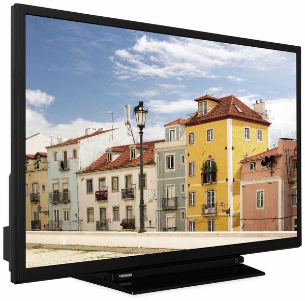 "LED-TV TOSHIBA 32W3963 DA, EEK: A+, 32"" (80 cm), schwarz - Produktbild 4"