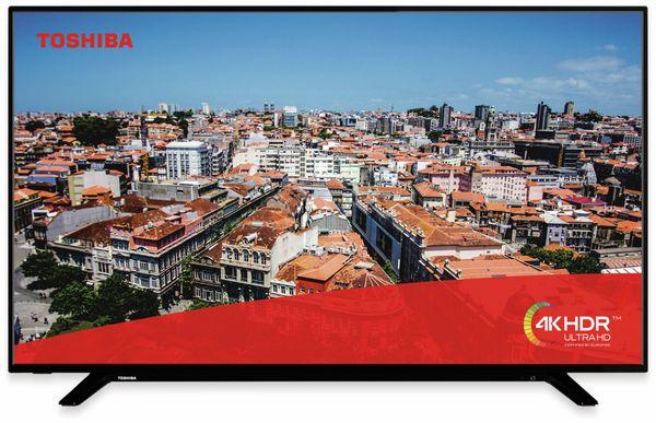 """LED-TV TOSHIBA 49 U 2963 DG, EEK: A+, 49"""", schwarz, UHD/4K - Produktbild 2"""