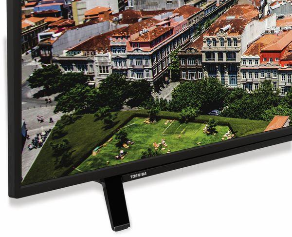 """LED-TV TOSHIBA 49 U 2963 DG, EEK: A+, 49"""", schwarz, UHD/4K - Produktbild 3"""