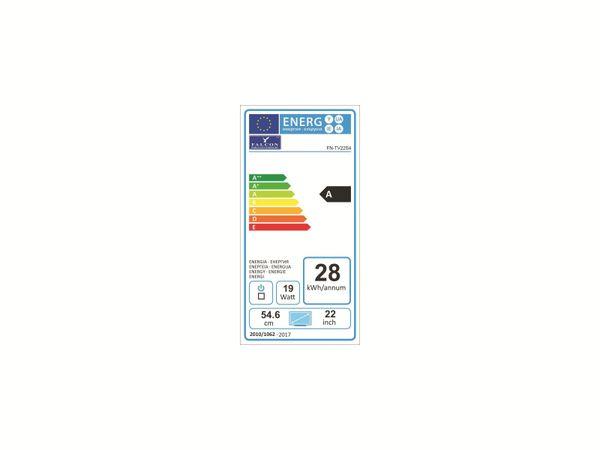 "LED-TV FALCON Travel-TV, 22"" (56 cm), Full HD, EEK: A+, mit DVD-Player - Produktbild 5"