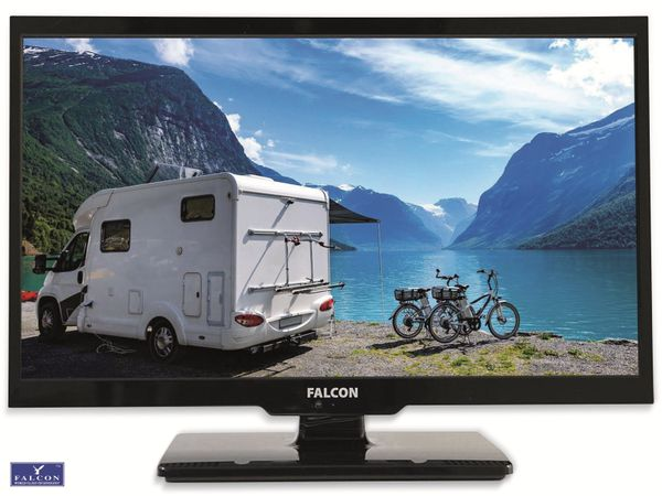 "LED-TV FALCON Travel-TV, 24"" (61 cm), Full HD, EEK: A+, mit DVD-Player"