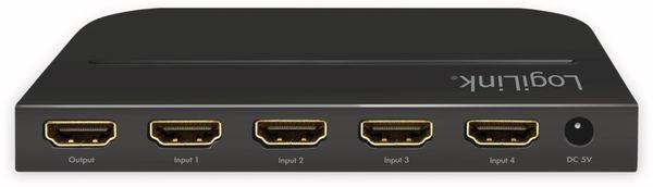 HDMI-Switch LOGILINK HD0035, 4-Port, 4K, HDMI 2.0 - Produktbild 7