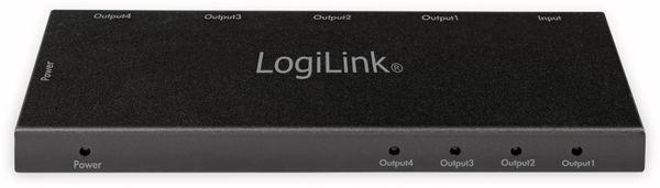 HDMI-Splitter LOGILINK CV0141, Ultra Slim, 4K Pro 1 zu 4x Splitter - Produktbild 4