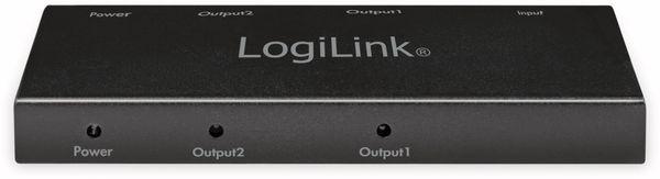 HDMI-Splitter LOGILINK CV0140, Ultra Slim, 4K Pro 1 zu 2x Splitter - Produktbild 4