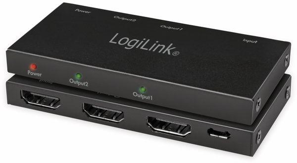 HDMI-Splitter LOGILINK CV0140, Ultra Slim, 4K Pro 1 zu 2x Splitter - Produktbild 8
