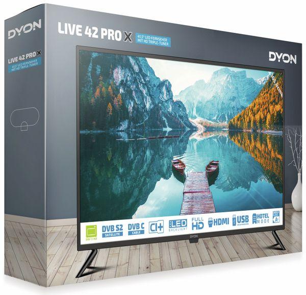 "LED-TV DYON Live 42 Pro X, inkl. HD+, EEK F, 41,5"" (105,4 cm) - Produktbild 3"